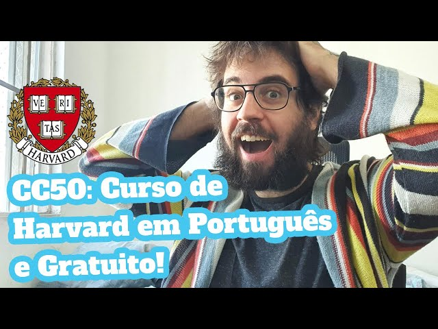 CC50: Curso mais popular de Harvard está disponível de graça e em português!