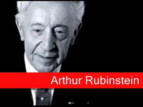 Arthur Rubinstein: Chopin - Waltz No. 7 Op. 64 No. 2 in C sharp minor