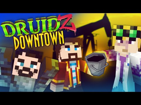 Minecraft Druidz Downtown #1 - Oil Town