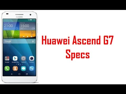 Huawei Ascend G7 Specs & Features