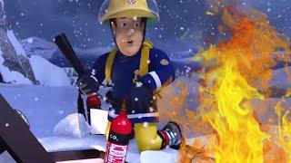 Пожарный Сэм на русском  🔥Поезд горит!  🚒 Эпизоды Компиляция | Новые серии 🔥 мультфильм