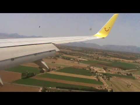 TUIfly Landung in Palma de Mallorca
