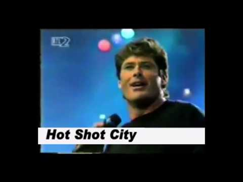 Смотреть клип David Hasselhoff - Hot Shot City