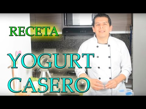 receta yogurt casero(PROBIOTICOS) video 818 Dr Javier E Moreno