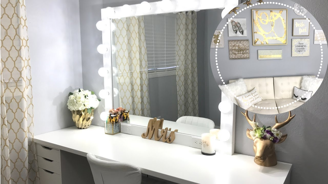 MY DREAM MAKEUP ROOM TOUR - YouTube on Makeup Room  id=35530