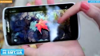 видео обзор на 5.3 дюймовый смартфон / телефон Lenovo S920