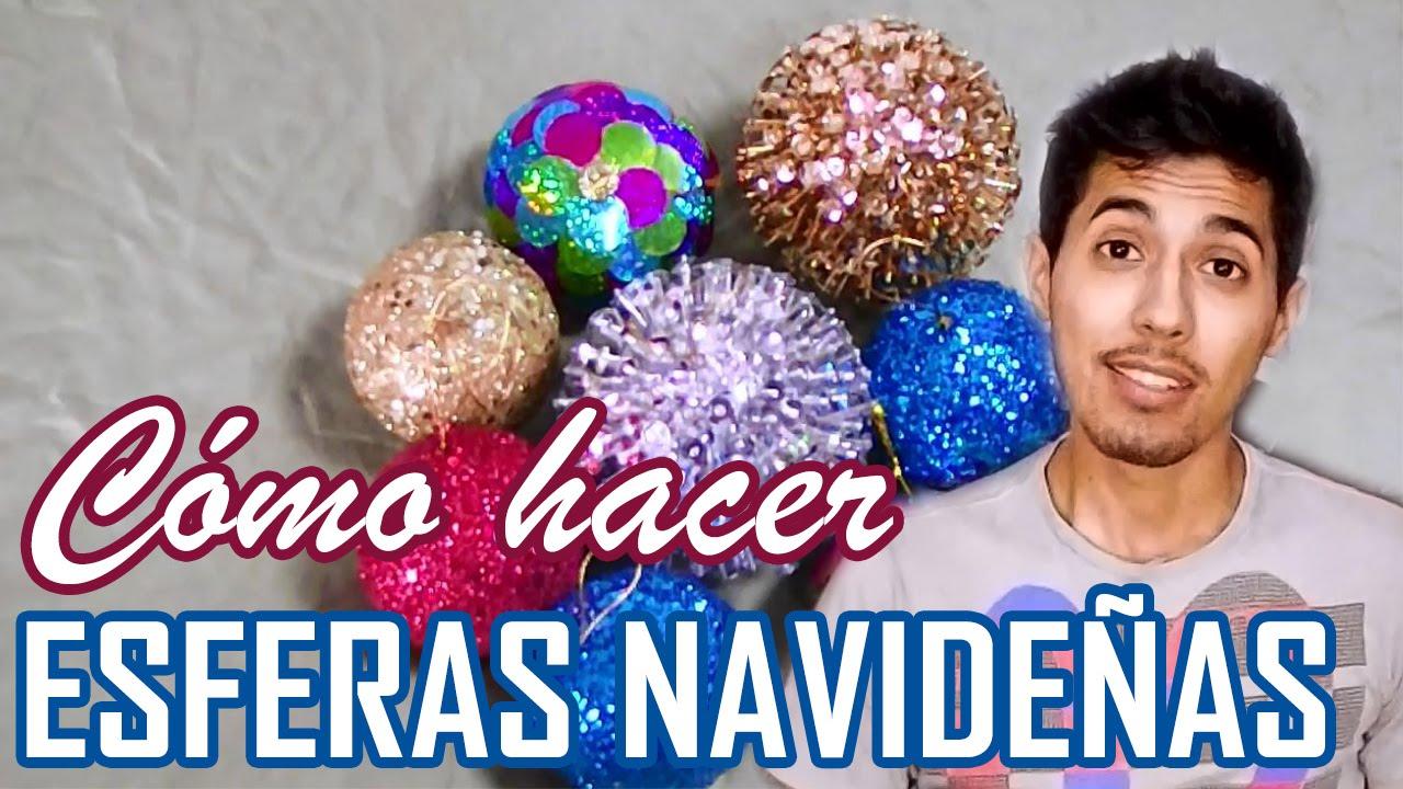 Esferas navide as geniales para tu rbol de navidad info - Como hacer bolas para decorar ...