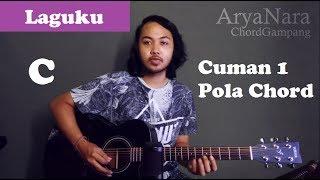 Chord Gampang (Laguku - Ungu) by Arya Nara (Tutorial Gitar) Untuk Pemula