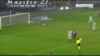 Highlights Juventus [ 0-3 ] AC Milan - 10/1/2010