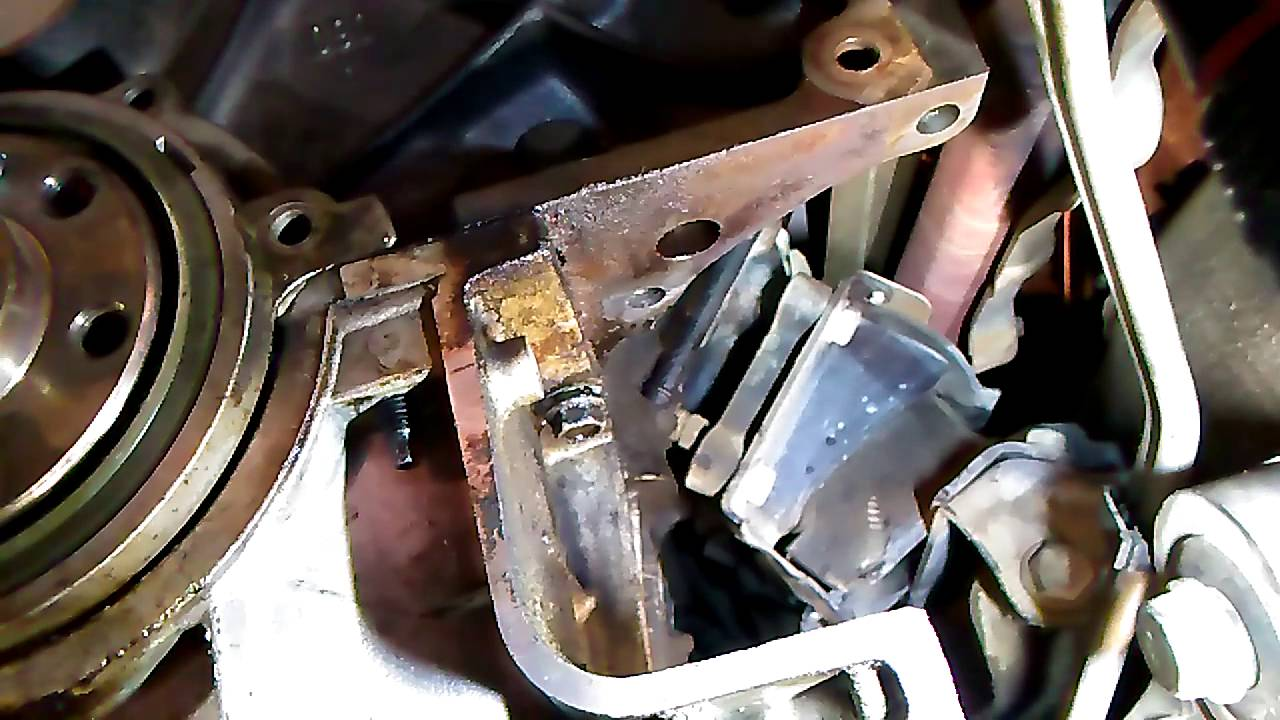 Oil pan leak Chevy Silverado 4.3 2003 - YouTube