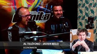 """""""Elevo la edad para irse del país a los 40"""" Javier Milei- 24/05/19"""