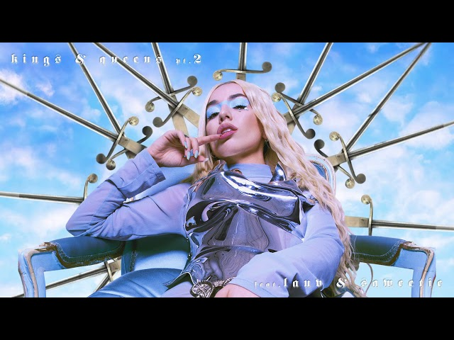 Ava Max - Kings & Queens Pt. 2 (feat. Lauv & Saweetie) [Official Visualizer]