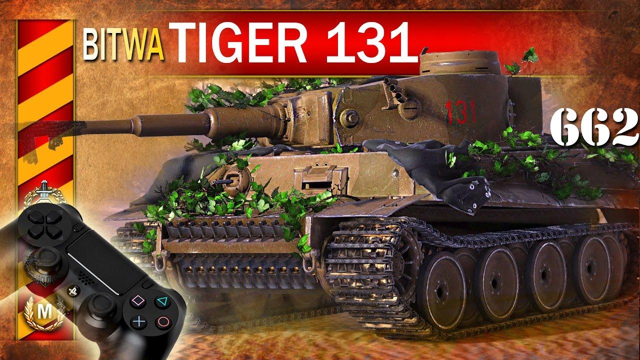 Tiger 131 – nowy premium – BITWA – World of Tanks