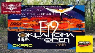 2018 Oklahoma Open   RD1, F9, MPO   Jenkins, Tillman, Sears, Menees, Knight