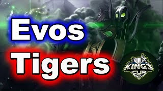 Tigers vs Evos Rampage !!! King's CUP SEA Group Stage