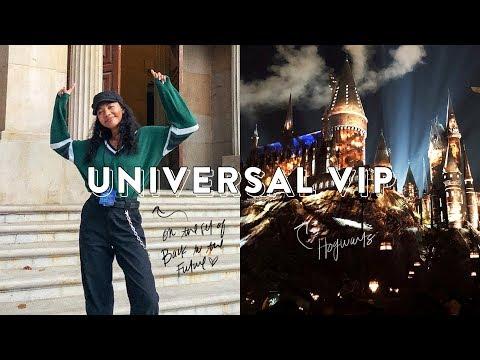 VLOG • Universal Studios VIP Experience! | Asia Jackson