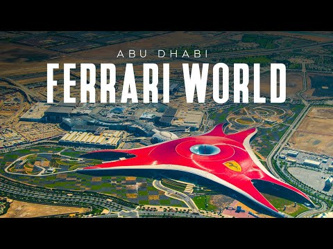 Ferrari World – Abu Dhabi | World's Fastest Roller Coaster Moving At 240km/hr