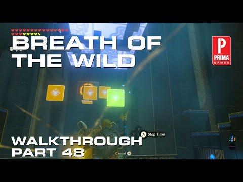 Zelda: BotW Walkthrough Part 48 - Ancient Rito Song Shrine Quest, Bareeda Naag Shrine, Hebra Tower