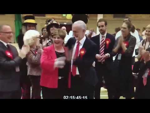 Jeremy Corbyn gives the worst ever high-five to Emily Thornberry