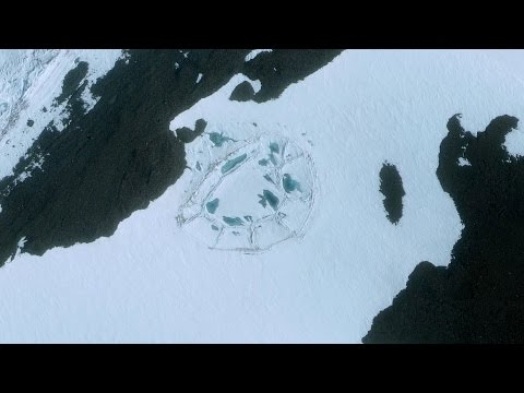 Did Anyone Else Notice This Strange Shape on the Antarctic I