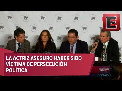 Conferencia de prensa de Kate del Castillo