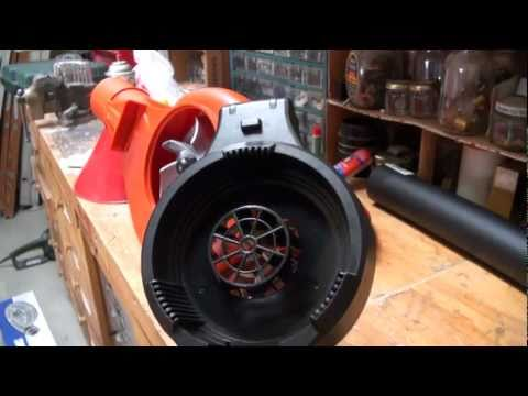 Modify a Black and Decker LeafHog into an Uber-powerful Yard Vac