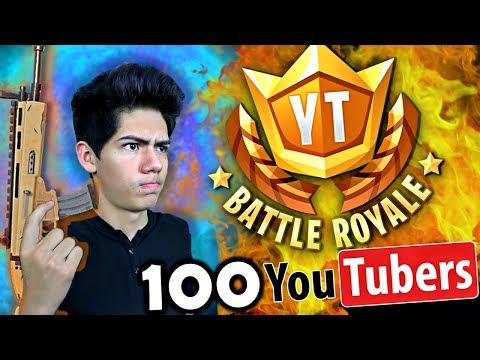 ¡CAZANDO YouTubers en Fortnite! EPIC TORNEO - [ANTRAX] ☣
