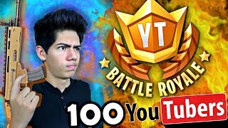 ¡CAZANDO YouTubers en Fortnite! EPIC TORNEO - [ANTRAX] ☣