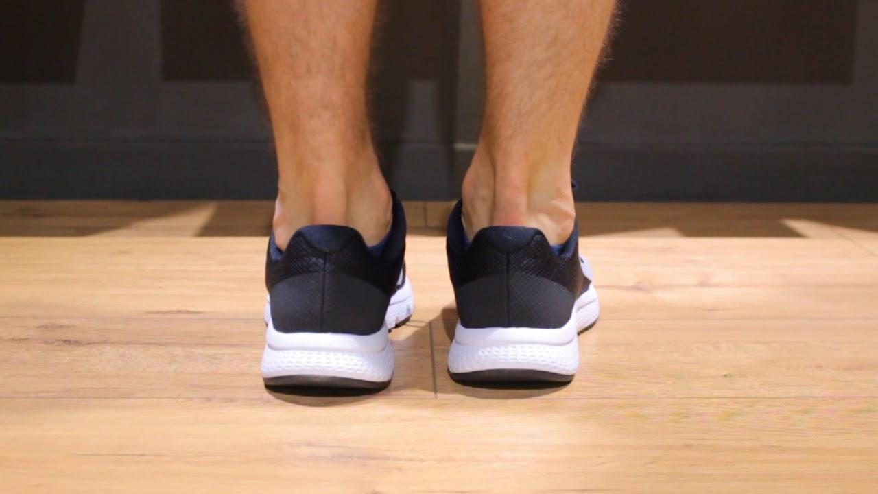 Onfeet Nike Runallday Blackwhite Sneakersby
