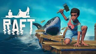 LET'S FIGHT A SHARK! | Raft
