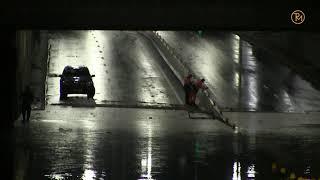 Deluge again in the tunnel on Dorogozhichi in Kiev