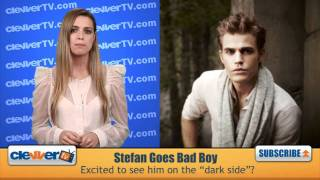 Paul Wesley Excited To Be Bad On