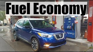 2019 Nissan Kicks - Fuel Economy Mpg Review + Fill Up Costs