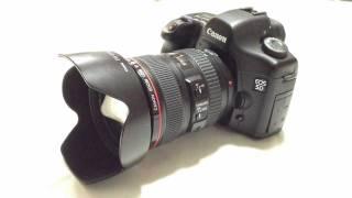 Canon EOS 5D shutter sound