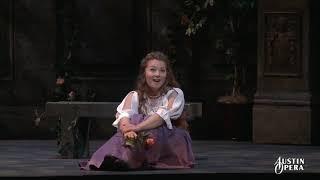 """""""Caro nome"""" - Rigoletto (Verdi) - Austin Opera trailer - sung by Madison Leonard"""