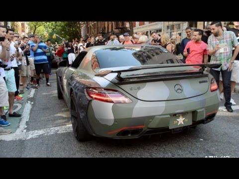 BRABUS Mercedes Benz SLS AMG HUGE REVS! Loudest SLS Ever!