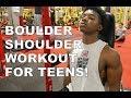 FULL SHOULDER WORKOUT FOR TEENS