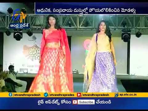 Models Ramp Walk at India Glam Fashion Week in Vizag