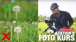 Kamera BLENDE EINFACH erklärt | Jaworskyj Foto Kurs 📷 Lektion 8