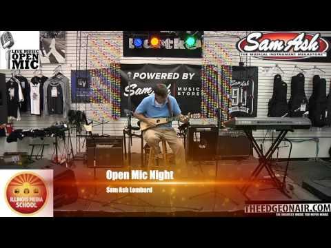 Sam Ash Open Mic Night 7-26-2017
