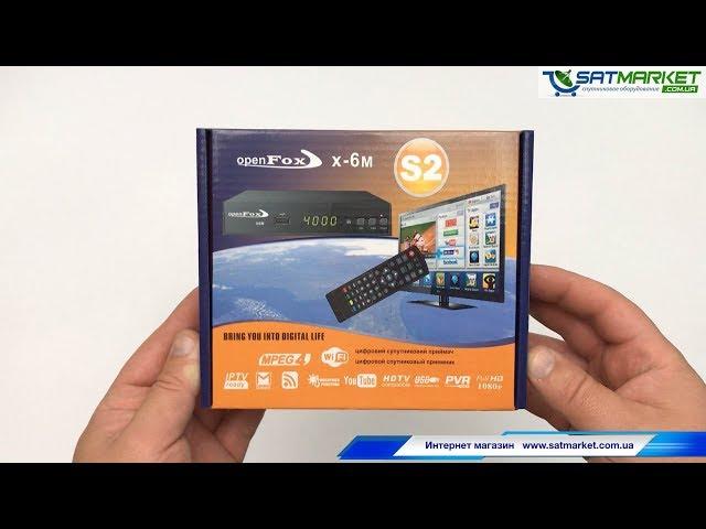 Видео обзор OpenFox S2 X-6 METAL