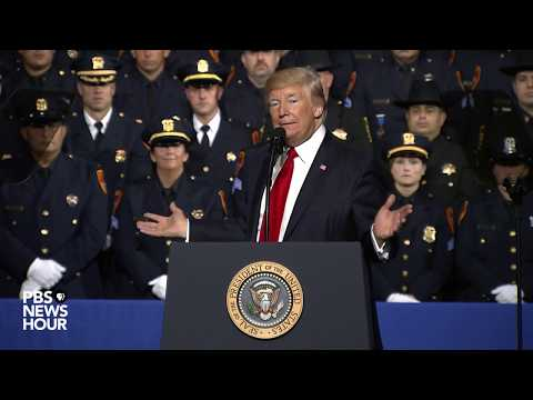 Trump discusses immigration and crime in New York