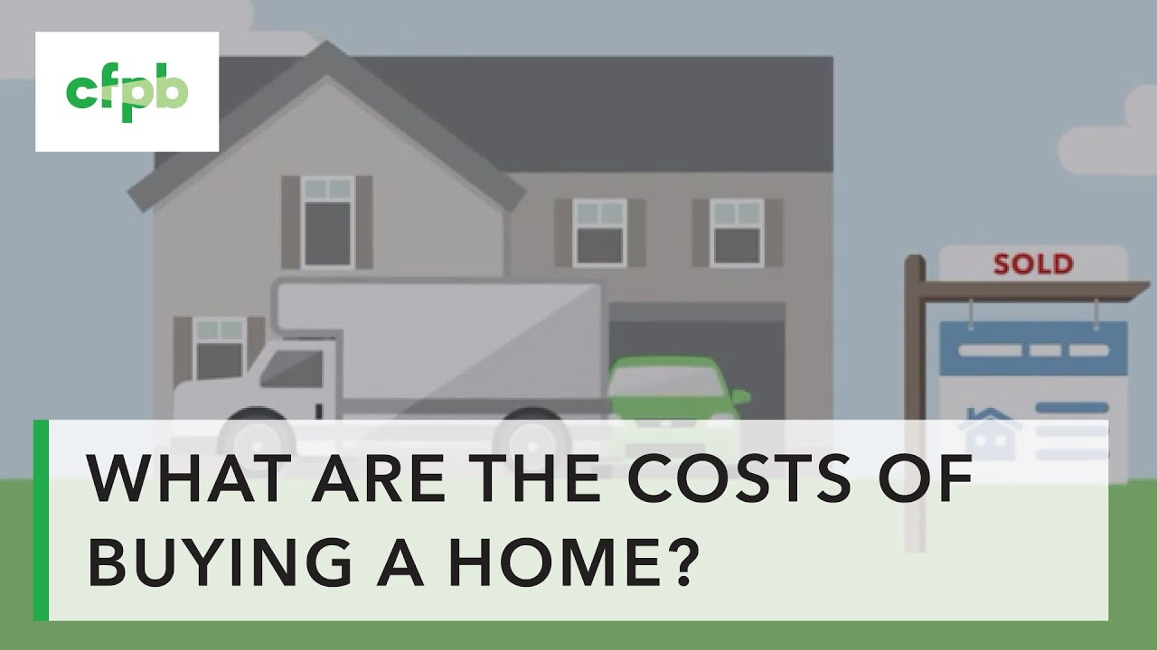 What are all the costs of buying a home? — consumerfinance.gov