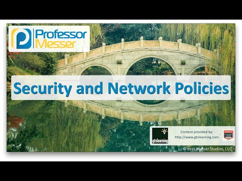 Descargar Video Security and Network Policies - CompTIA Network+ N10-006 - 5.5
