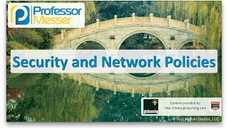 Security and Network Policies - CompTIA Network+ N10-006 - 5.5