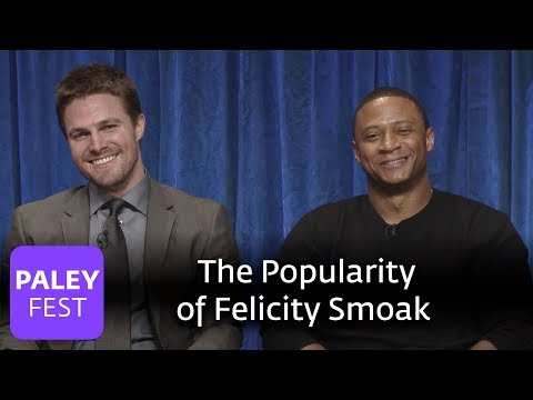 Arrow - Andrew Kreisberg and Marc Guggenheim Talk About the Popularity of Felicity's Character