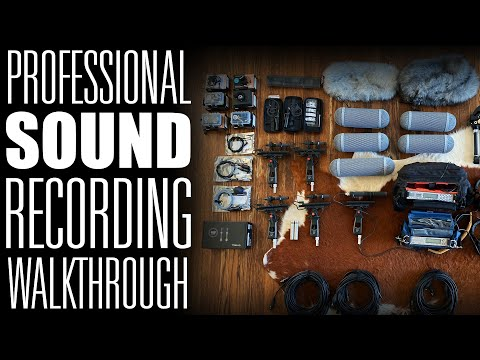 Pro Recording Rig Walkthrough: Everything I Use To Record Sound Effects