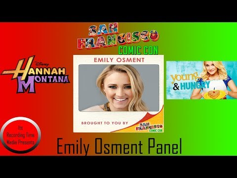 San Francisco Comic Con 2017: Emily Osment Panel