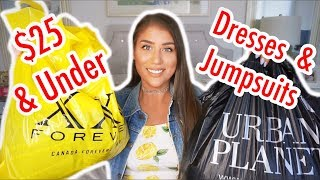 Affordable Try-On Haul Summer Dresses + Jumpsuits | Urban Planet + Forever 21 Affordable Clothing