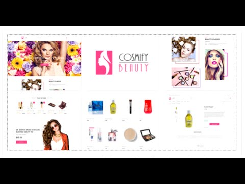Cosmify - Fashion Cosmetic Shopify Theme by CleverSoft | ThemeForest Download